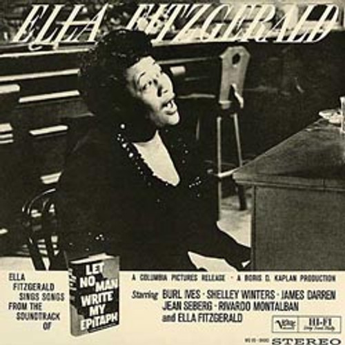 Jazz LP 200g - Ella Fitzgerald: Let No Man Write My Epitaph (45rpm-edition). Acoustic Sounds AS4043, Cat.# AS AVRJ 4043-45, format 2LPs 200g 45rpm. Barcode 0753088404313. More info on www.sepeaaudio.com