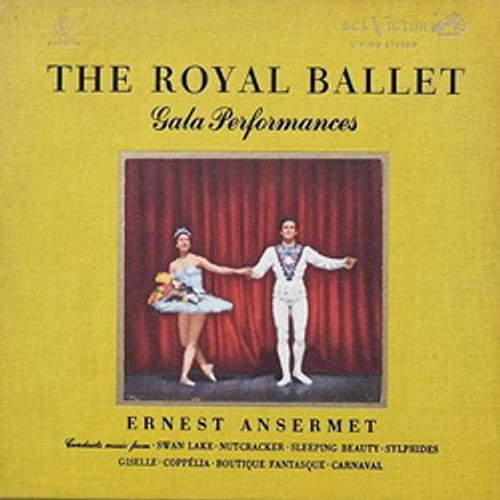 Classical  LP 200g - The Royal Ballet Gala Performances (45rpm-edition). Acoustic Sounds AS606545, Cat.# AS AAPC 6065-45, format 5LPs 200g 45rpm. Barcode 0753088606571. More info on www.sepeaaudio.com