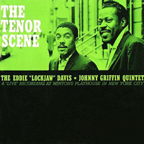 """Jazz LP 200g - Eddie """"Lockjaw"""" Davis & Johnny Griffin: The Tenor Scene. Acoustic Sounds AS7191, Cat.# AS APRJ 7191-33, format 1LP 200g 33rpm. Barcode 0753088719110. More info on www.sepeaaudio.com"""