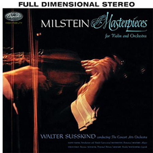 Classical  LP 200g - Nathan Milstein: Masterpieces For Violin And Orchestra. Acoustic Sounds AS852833, Cat.# AS AAPC 8528-33, format 1LP 200g 33rpm. Barcode 0753088852817. More info on www.sepeaaudio.com