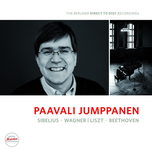 Classical  LP 180g - Paavali Jumppanen: Piano Recital. Berliner Meister Schallplatten BM1201, Cat.# BMS 1201 V, format 1LP 180g 33rpm. Barcode 4260428070016. More info on www.sepeaaudio.com