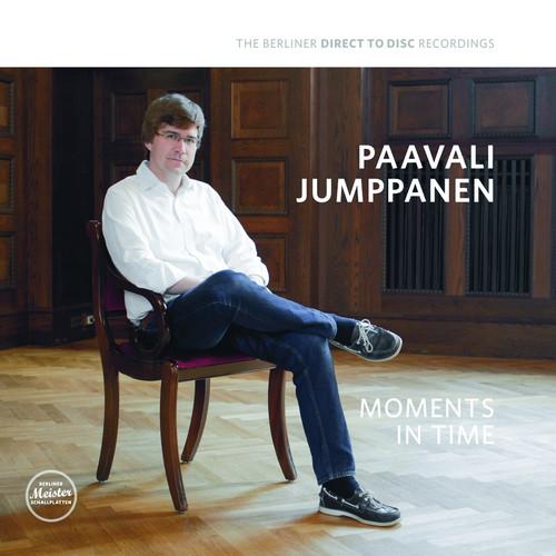 Classical  LP 180g - Paavali Jumppanen: Moments In Time. Berliner Meister Schallplatten BM1412, Cat.# BMS 1412 V, format 1LP 180g 33rpm. Barcode 4260428070122. More info on www.sepeaaudio.com