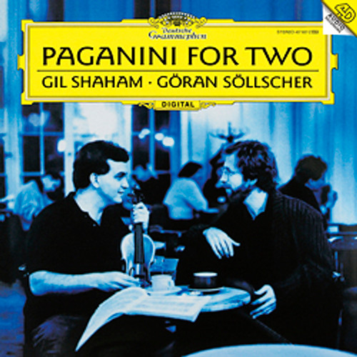 Classical  LP 180g - Paganini For Two. Analogphonic CL43007, Cat.# Analogphonic LP 43007, format 1LP 180g 33rpm. Barcode 8808678160079. More info on www.sepeaaudio.com