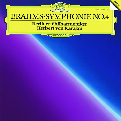 Classical  LP 180g - Brahms: Symphony No. 4. Analogphonic CL43096, Cat.# Analogphonic LP 43096, format 1LP 180g 33rpm. Barcode 8808678160963. More info on www.sepeaaudio.com