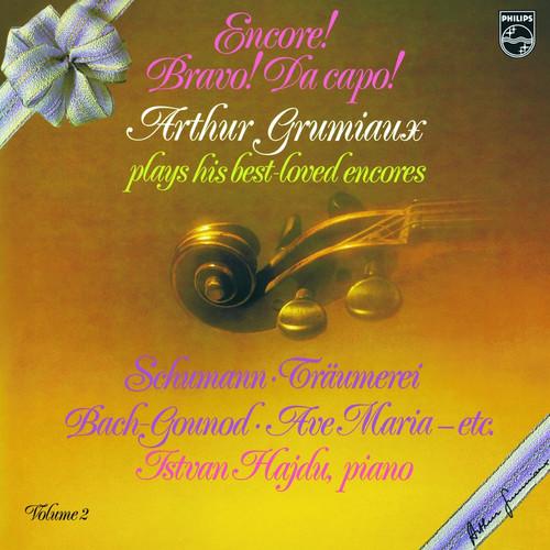 Classical  LP 180g - Grumiaux: Encore! Bravo! Da capo!. Analogphonic CL43108, Cat.# Analogphonic LP 43108, format 1LP 180g 33rpm. Barcode 8808678161083. More info on www.sepeaaudio.com