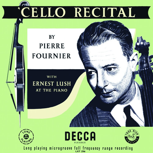 Classical  LP 180g - Pierre Fournier: Cello Recital. Analogphonic CL43127, Cat.# Analogphonic LP 43127, format 1LP 180g 33rpm. Barcode 8808678161274. More info on www.sepeaaudio.com
