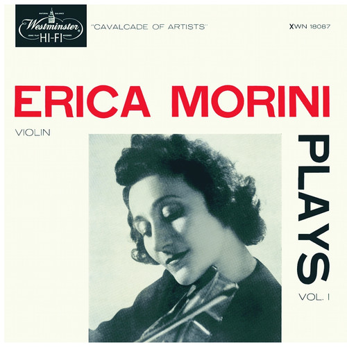 Classical  LP 180g - Erica Morini Plays, Vol.1. Analogphonic CL43129, Cat.# Analogphonic LP 43129, format 1LP 180g 33rpm. Barcode 8808678161298. More info on www.sepeaaudio.com