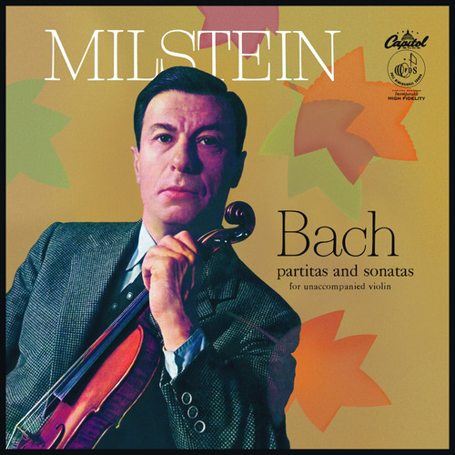 Classical  LP 180g - J.S Bach: Partitas & Sonatas for unacc. violin. Analogphonic CL43130, Cat.# Analogphonic LP 43130, format 3LPs 180g 33rpm. Barcode 8808678161304. More info on www.sepeaaudio.com