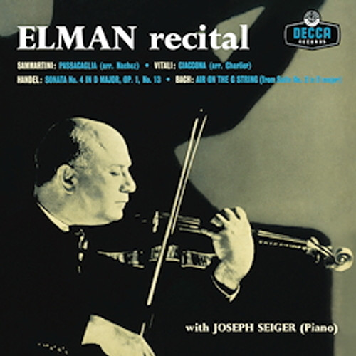Classical  LP 180g - Mischa Elman: Recital. Analogphonic CL43135, Cat.# Analogphonic LP 43135, format 1LP 180g 33rpm. Barcode 8808678161359. More info on www.sepeaaudio.com