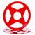 "SEPEA 1/4"" Metal NAB Reel M2 10,5""/265mm red gloss - used. Reel Tape accessories sepeaaudio.com"