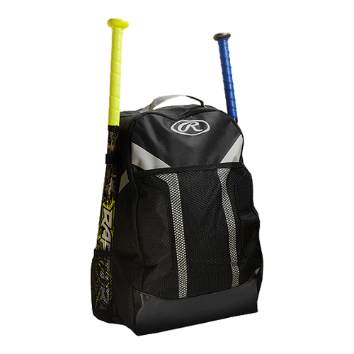 Royal Blue - Fence hook, large main storage compartment, holds two (2) bats, plus assorted pockets for valuables and accessories.