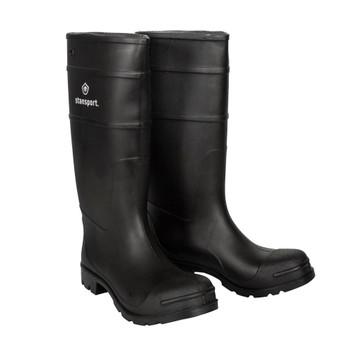 Plain Toe Knee Boot