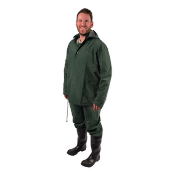 3-Piece Deluxe Rainsuit - Green