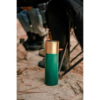 12 Gauge Shotshell® Thermo Bottle - Green
