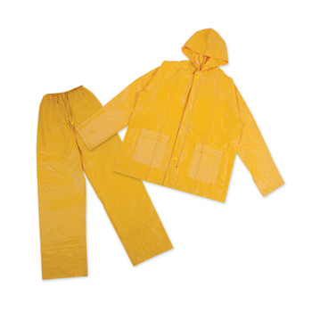 2-Piece Laminated Industrial Rainsuit - Yellow