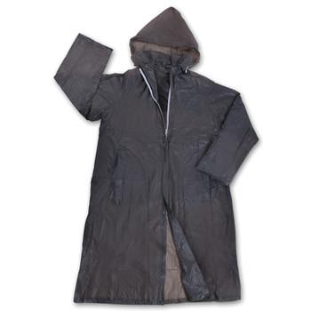 Vinyl Men's Rain Coat - Smoke
