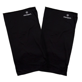 Microfiber Neck Gaiter  - Black - 2 Pack