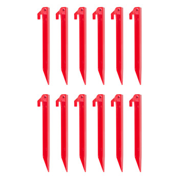 "9"" Plastic Tent Stakes - 12 Pack"
