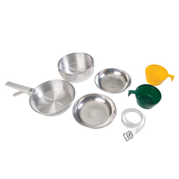 Deluxe 8-Piece Aluminum Cook Set 2 Person