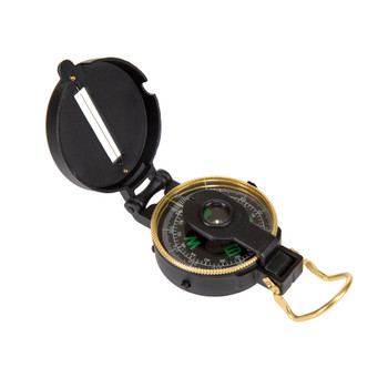 Lensatic Compass Metal