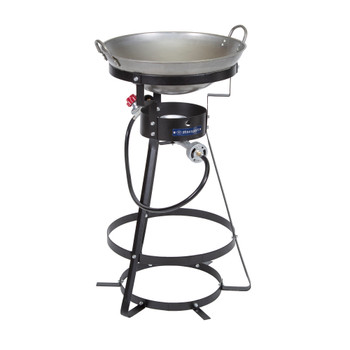 Camp Stove with Carbon Steel Wok