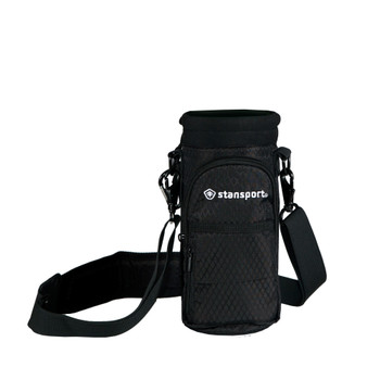 Insulated Bottle Carrier with Strap