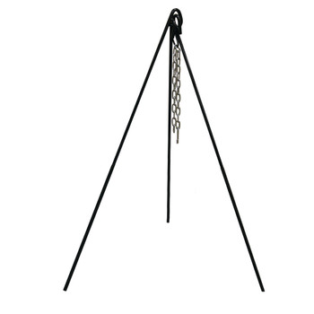 Heavy-Duty Steel Cooking Tripod