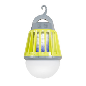 Indoor/Outdoor Insect Zapper & Lantern Combo