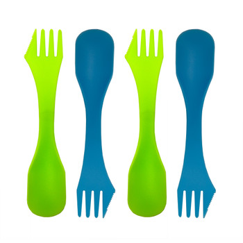 Lightweight Plastic 3-in-1 Spork
