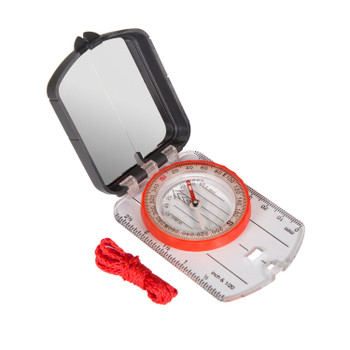 Multi-Function Compass with Mirrored Cover