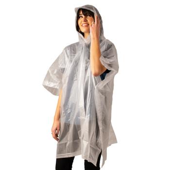 Hooded Peva Poncho