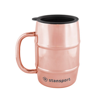 16 OZ. Double Wall Camp Mug - Copper