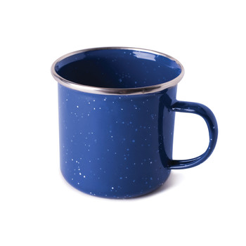 Enamel Coffee Mug 12 OZ