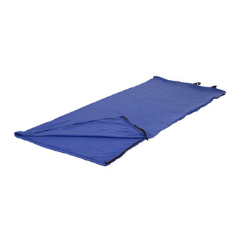 Fleece Sleeping Bag - Blue