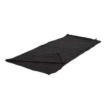 Fleece Sleeping Bag - Black