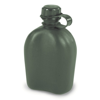 1 QT. G.I. Style Canteen - O.D. Green