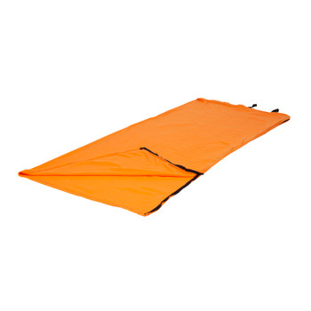 Fleece Sleeping Bag - Orange