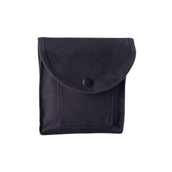 Cotton Canvas Utility Pouch - Black