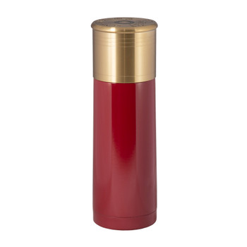 12 Gauge Shotshell Thermo Bottle - Red