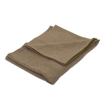 Wool Blend Camp Blankets - O.D. Green