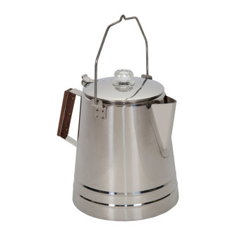 Stainless Steel Percolator Coffee Pot 28 Cups