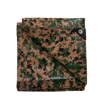 Medium-Duty Rip-Stop Tarp - Digital Woodland
