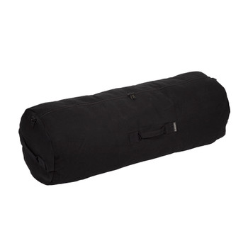 Zippered Canvas Deluxe Duffel Bag