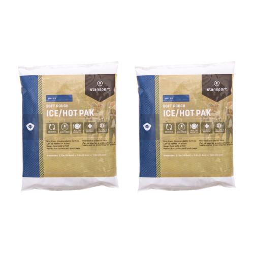 Soft Pouch Ice/Hot Pak Medium - 2 Pack