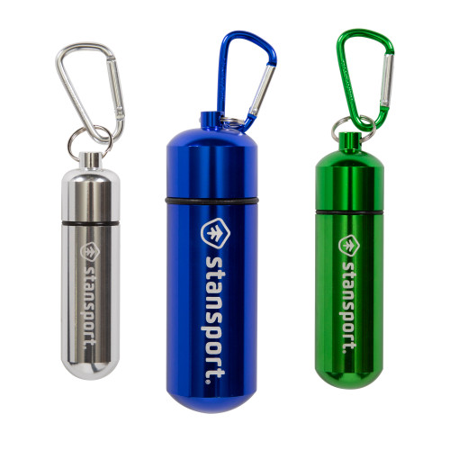 Aluminum Storage Capsule - Assorted 3-Pack