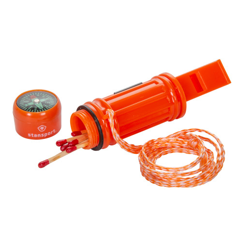 5-in-1 Plastic Survival Whistle