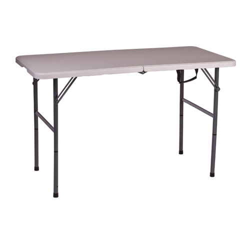 Folding Camp Table with Adjustable Legs