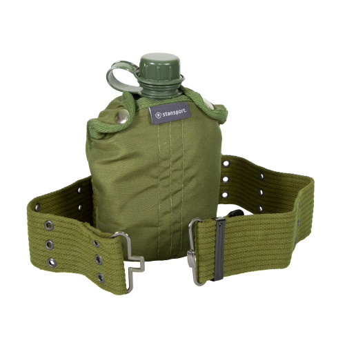 G.I. Style Canteen, Cover & Belt