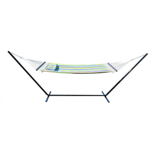Antigua Double Polyester Hammock with Stand