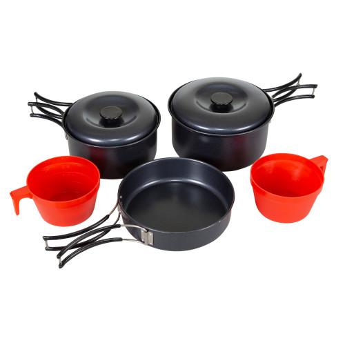 Black Granite Cook Set - 2 Person